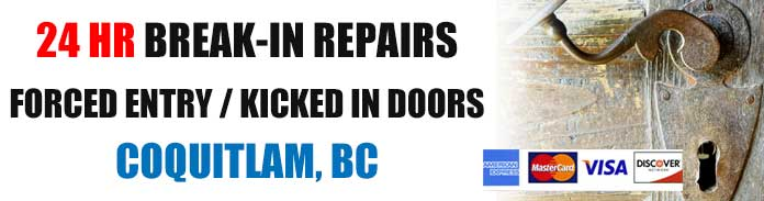Break-in & burglary repairs in Coquitlam