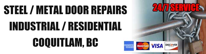 Metal and Steel Door Repairs in Coquitlam