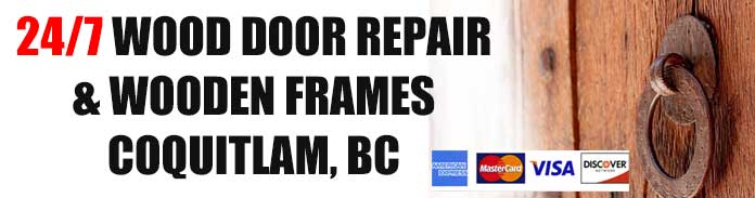 Wooden Door Repairs in Coquitlam